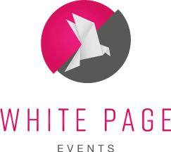 White Page Events Logo